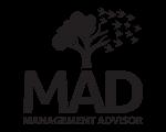 logo mad-vertical music